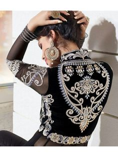 ❤️,❤️ Great some ideas for lovely embroidery By embroidering lovely habits, little results or wonderful edges, DIY fashion designers can style their indi. Couture Details, Fashion Details, Diy Fashion, Indian Fashion, Fashion Dresses, Womens Fashion, Caftan Gallery, Motifs Perler, Moroccan Caftan