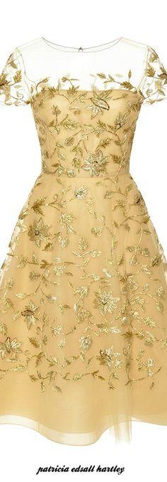 Oscar de la Renta #Floral #fashion