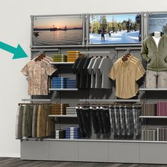 Boutique Store Displays, Clothing Store Displays, Clothing Store Interior, Clothing Store Design, Shoe Store Design, Retail Store Design, Retail Fixtures, Store Fixtures, Baby Store Display
