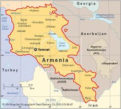 After the Armenian Genocide in 1915 the country of Armenia was cut in half. The turks took half of the country away after murdering million Armenians. It is said that the country of Armenia looks like the shape of a beautiful woman. Armenian History, Armenian Culture, Armenia Travel, Iran Travel, Armenia Azerbaijan, Thinking Day, My Heritage, Eastern Europe, The Republic
