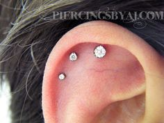 Piercings By AJ - Two awesome cartilage projects in one day?? Yea,...