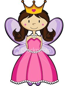 fairy-princess - cute drawing to model the paintings after.. layer the wings, then the princess and finally the crown. On canvas...