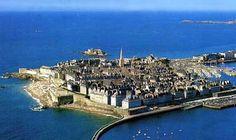 San Malo, France.  Had a crazy evening there tracking down an AWOL student!
