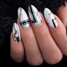 Cute Almond Nails, Almond Nail Art, Manicure Nail Designs, Nail Manicure, Short Round Nails, Round Shaped Nails, Happy Nails, Oval Nails, Great Nails
