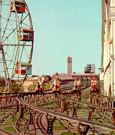 Coney Island History - First Steeplechase Park.