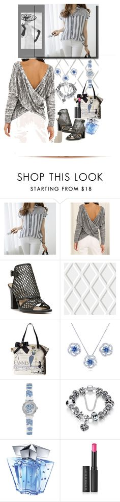 """Conley_esperanzaj-brownshuga"" by conley-esperanzaj1957 ❤ liked on Polyvore featuring Via Spiga, Cole & Son, My Flat In London, BERRICLE, GUESS, Thierry Mugler and Le Métier de Beauté"