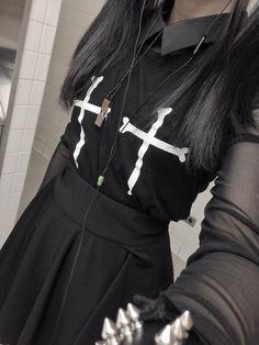 Pastel witch goth