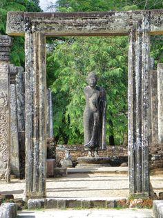 Polonnaruwa, la capital del reino de Sri Lanka