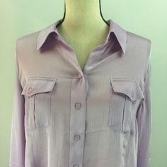 Coldwater Creek Women's Purple Button Down Shirt Size Large | eBay