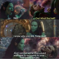 """""""I am not some starry-eyed waife..."""" Guardians of the Galaxy"""