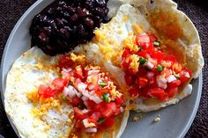 Start your day with these crazy delicious Huevos Rancheros.