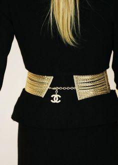 Freesia - أحزمة عصرية وجديدة Roupa Chanel, Acessórios De Moda, Moda Atual,  Cintos 14a50095df