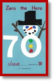 Use these activities to teach your children about the number zero, counting by ones to 100, and counting by tens! Beginning on the first day of school, we count the number of days until the 100th day of school. On every 10th day, Zero comes for a visit because he loves the number 0!   The students make a book of Zero from 10 to 100!  ($) #ZeroTheHero #100Days ofSchool
