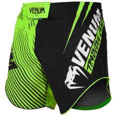 Venum Tempest 2.0 Fight Shorts Black White No-Gi BJJ MMA Jiu Jitsu Training