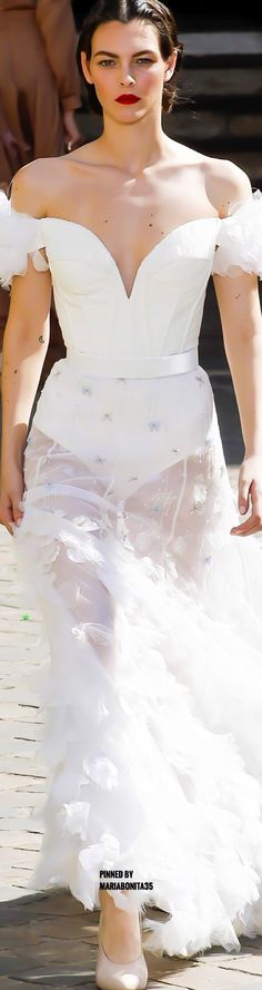 Ulyana Sergeenko Haute Couture Fall17