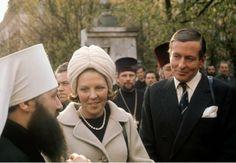 Prinses Beatrix en Prins Claus (NL) 1973