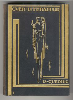 Over Literatuure - Is Querido (1924) cover by Pieter Hofman