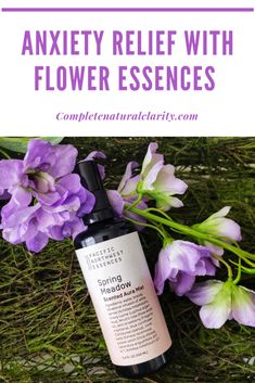 "Spring Meadow Aura Mist & Flower Essence Blend for Stress & Anxiety Relief!  This flower essence blend from Pacific Northwest Essences has been a lifesaver in my wellness ""toolkit"" as it balances my energy, grounds me, & keeps me centered when I'm feeling utterly overwhelmed! Click to read my full Review for more insight with an exclusive coupon code! #floweressence #auramist #energyhealing #stressrelief #anxietyrelief #chakrabalancing #alternativemedicine #naturalremedies"