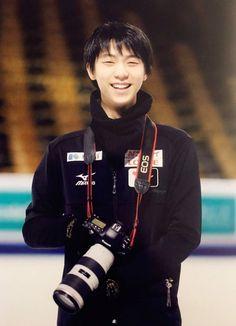 Yuzuru Hanyu + camera