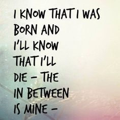 Pearl Jam I am mine lyrics