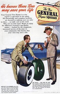 1949 General Tire Company Retrofair