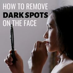 How to Remove Dark Patches and Spots From Your Face - Bellatory Dark Patches On Face, Brown Spots On Face, Dark Spots On Skin, Skin Spots, Even Skin Tone, Face Care, Skin Care, Skin Treatments, Spot Treatment