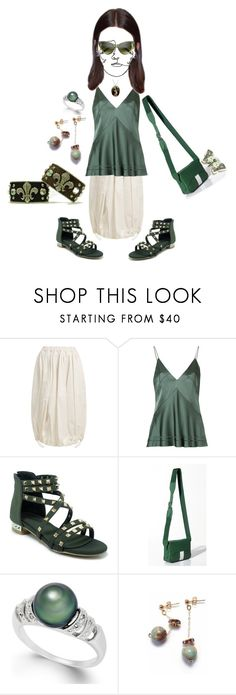 """Summer 2018"" by michelle858 ❤ liked on Polyvore featuring Junya Watanabe, Manning Cartell, TIBI and Retrò"