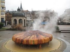 Wiesbaden - A Top Ten Cultural Destination. Wiesbaden's most famous Fountain Weisbaden Germany, Mainz Germany, Visit Germany, Germany Travel, Places Worth Visiting, Worldwide Travel, Life Is An Adventure, Gypsy Soul, European Travel
