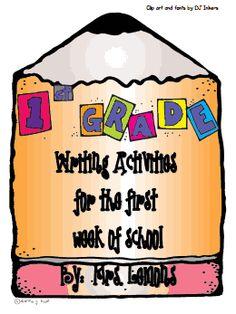 1st week of school activities for 1st grade.pdf