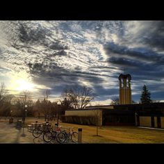 Sunrise at Concordia College in Moorhead, Minnesota. Photo by Tyler Heins '12 #cordmn #sunrise #midwest cc: @Fargo-Moorhead