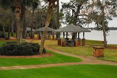 park on the bayou at Niceville