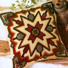 Набор для вышивание подушки Vervaco Орнамент   Вервако 1200-236