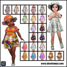 Lana CC Finds — sims4nexus: May Frills - A Set for Toddler Girls...