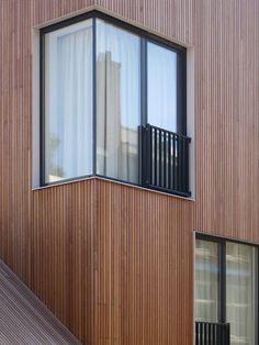 Residential hus i M3H Architecten Amsterdam of Hjørne,