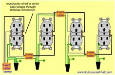 home ac wiring diagram ford tractor solenoid pin by andrew hicks on construction details methods pinterest receptacles in series