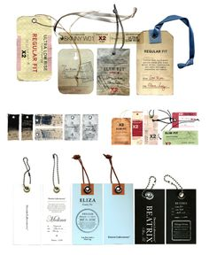 Jean Labels by Hovard Design for Express.
