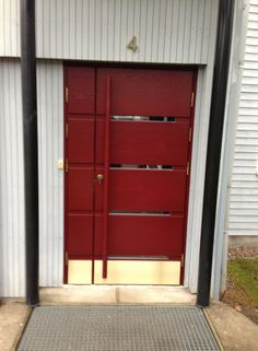 Exterior door made by Porvoon Puutyö Oy