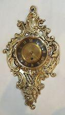 Старинная латунная бронзовая часы Германия движение эпохи Регентства французского барокко стиль рококо