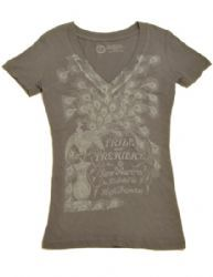 Pride and Prejudice T-Shirt from the Literary Gift company. Why yes, I do want everything from this site. Why do you ask?