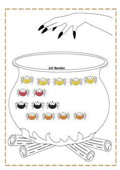 Toverdrankjesspel: Spinnensap 2 Juf Berdien speluitleg halloween herfst spinnen kriebeldiertjes volledige spel Facebookgroep: 'Juf Berdien'