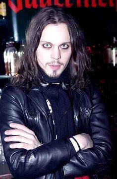 Those eyes. Ville Valo