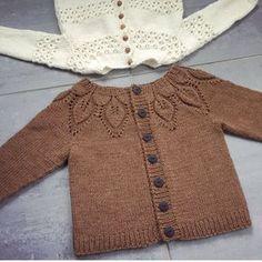 Best 12 Ravelry: Project Gallery for Bella pattern by Lene Holme Samsøe Baby Sweater Patterns, Baby Knitting Patterns, Baby Patterns, Cardigan Bebe, Knitted Baby Cardigan, Diy Crafts Knitting, Knitting For Kids, Crochet Baby, Knit Crochet