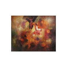 NOVICA Abstract Original Painting (2008) ($734) ❤ liked on Polyvore featuring home, home decor, wall art, abstract paintings, paintings, abstract home decor, inspirational paintings, spanish paintings, novica home decor and spanish home decor
