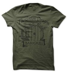 Lord of the Rings  Parody  Green Dragon Bar & by SunDogShirts, $12.95