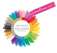 Faber-Castell Design Memory Craft Gelatos color wheel