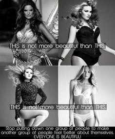 Fat and skinny shaming