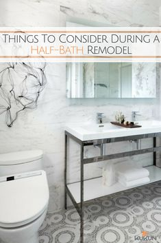 Factors To Consider During A Half Bath Remodel