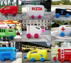 We just spent a couple minutes zoning out to Martine Camillieri's prolific collection of Camions-bidons (bottle trucks).via pan-dan