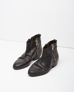 Golden Goose Viande Western Boots