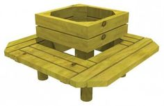 Build a seat around the tree... or turn into raised bed for perennial herbs like rosemary